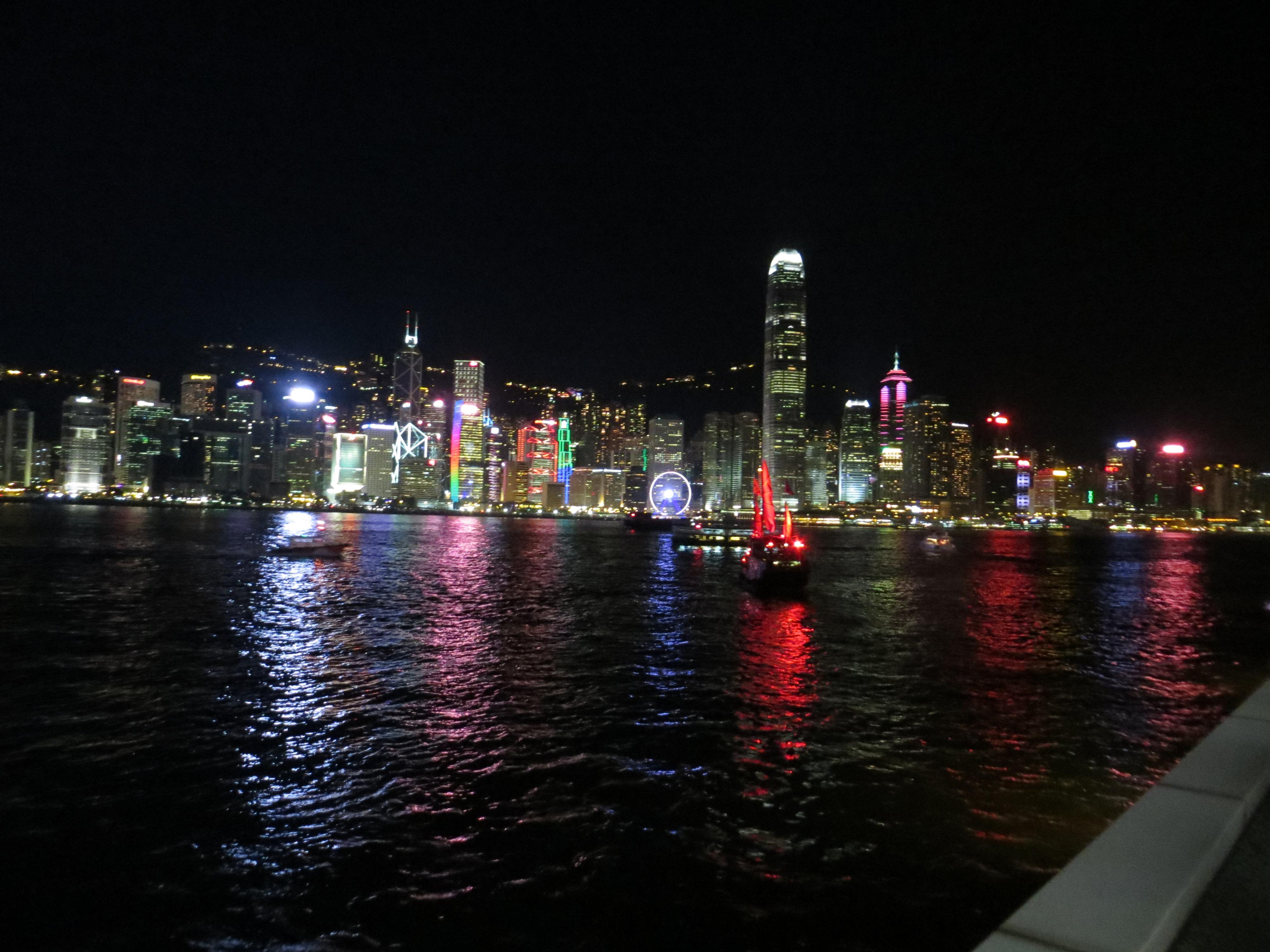 Hong Kong harbor best 0721