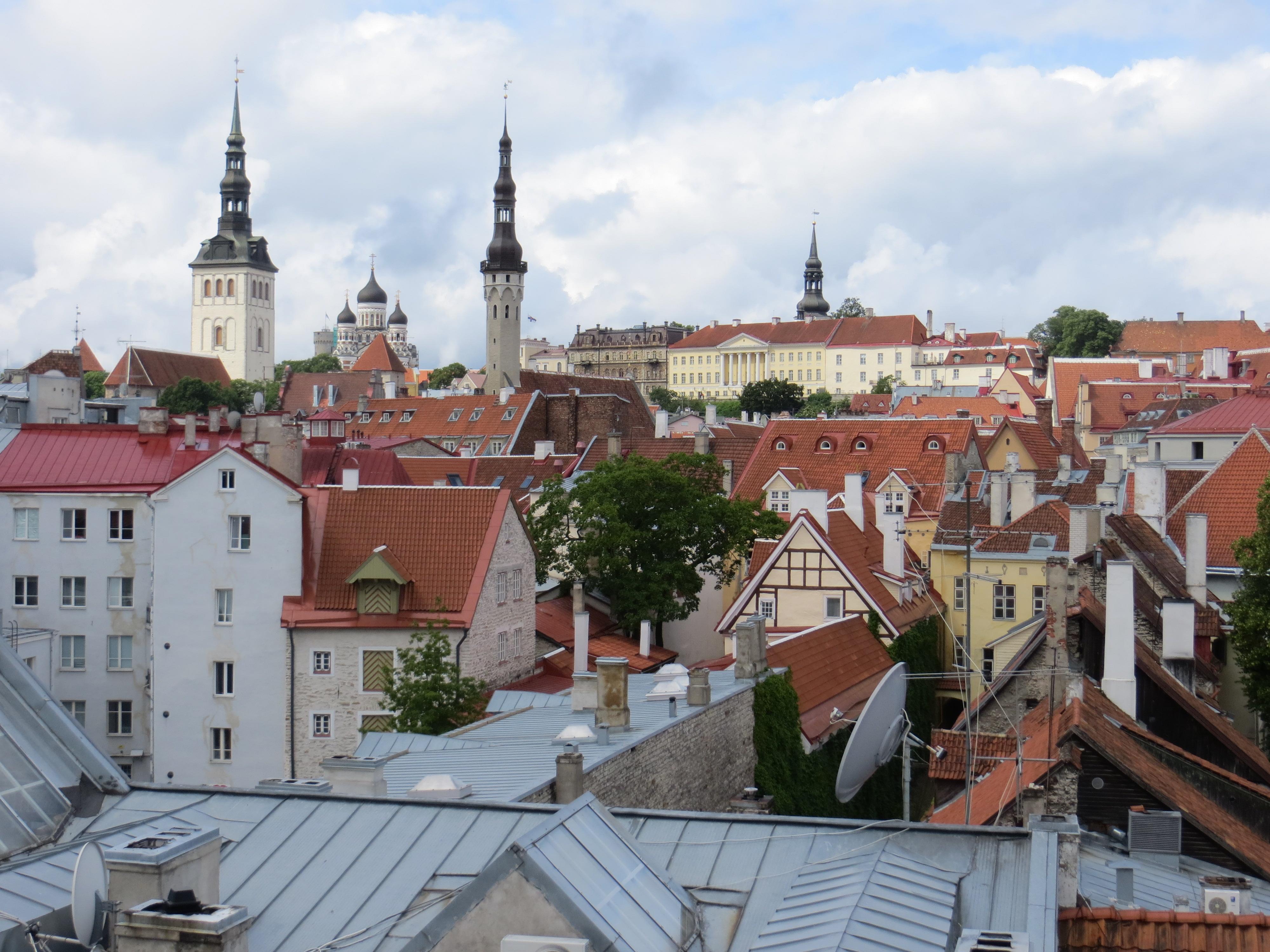 Tallinn 7.10 wall climb Estonia
