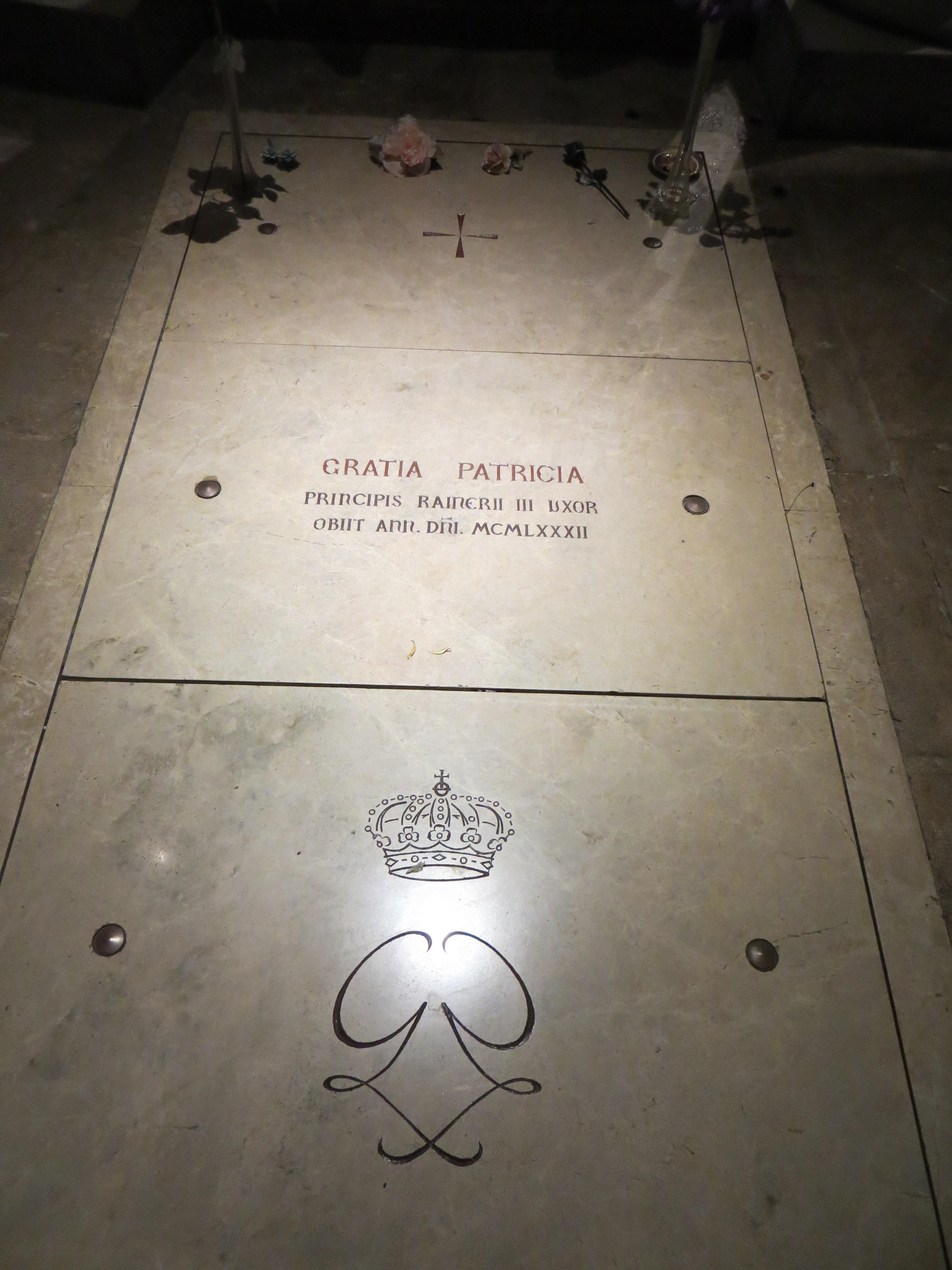 2012 Monaco Princess Grace grave