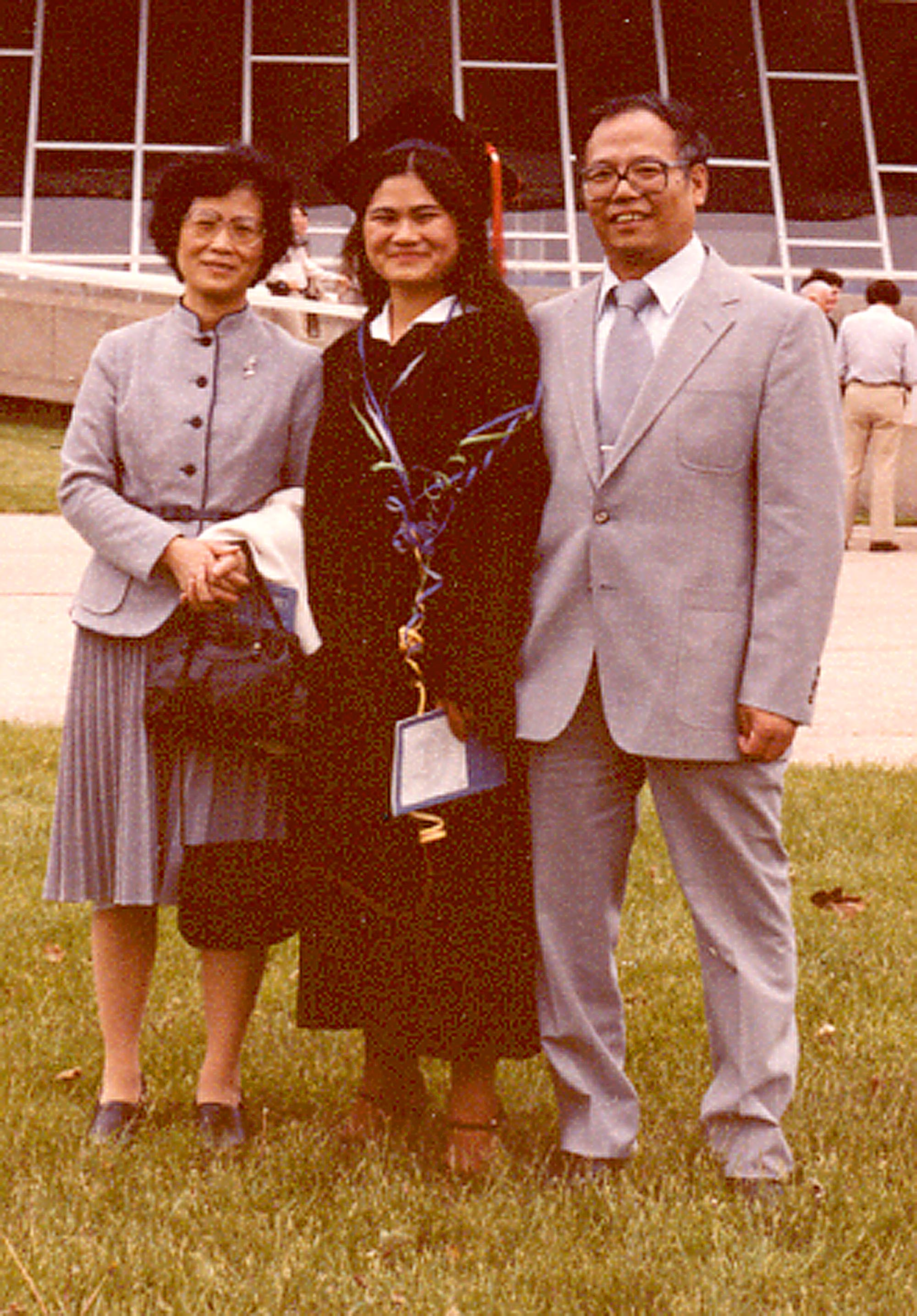 Family at MM U of I graduation 1981