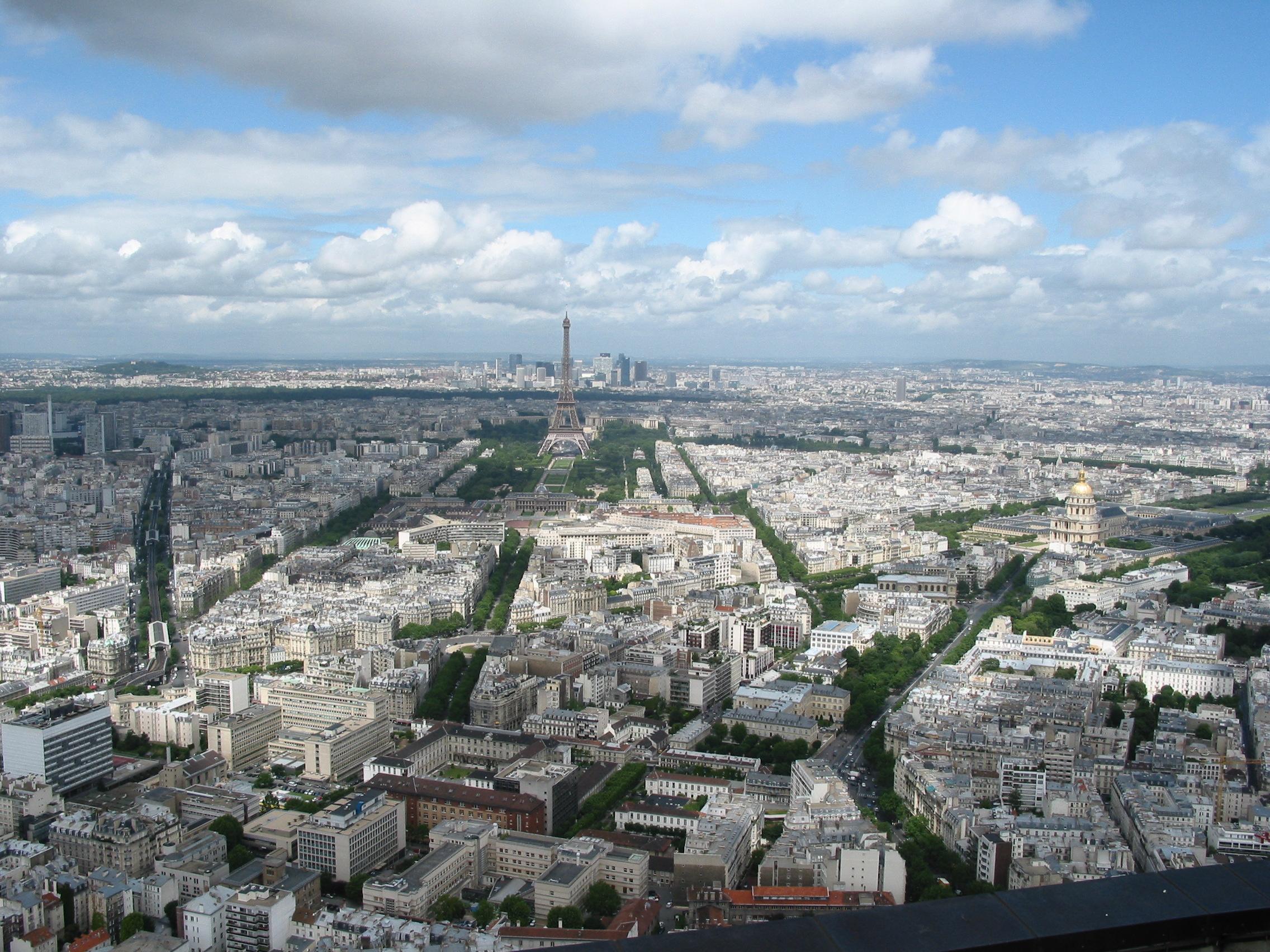 Paris France city overview