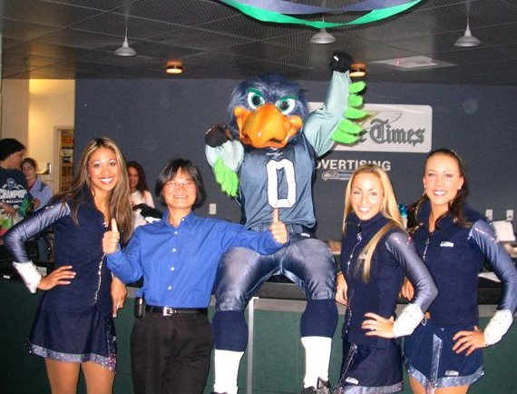 Seagals at Seattle Times