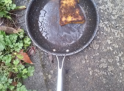 The Macroneurotic Carbo Flexitarian Homemaker Cooks Blackened Bread