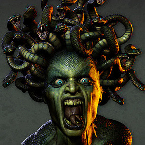 Medusa boiled her kids and seved them to her husband Jason.