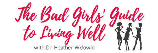 The Bad Girls' Guide to Living Well red.