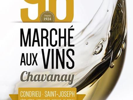 Marché aux vins de Chavanay.