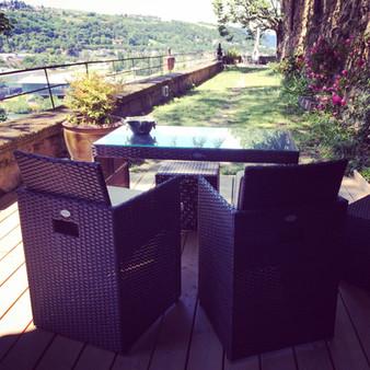 Votre terrasse l'été.