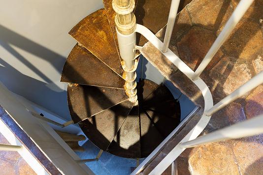 Escalier de la chambre d'hôte Viennoise - La Bâtie