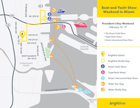 Boat and Yacht Show Map