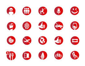 Virgin Trains Icons