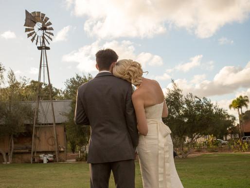 Claire and Robert Wedding   Rancho Bernardo Winery San Diego