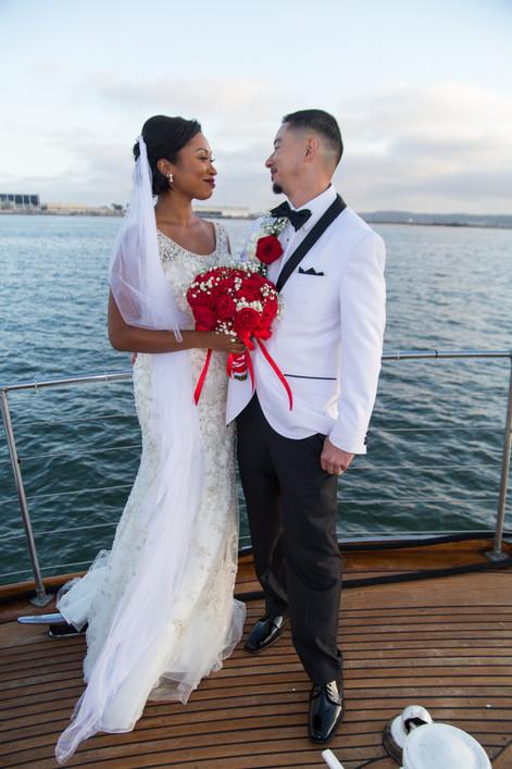 Yacht Wedding in San Diego California