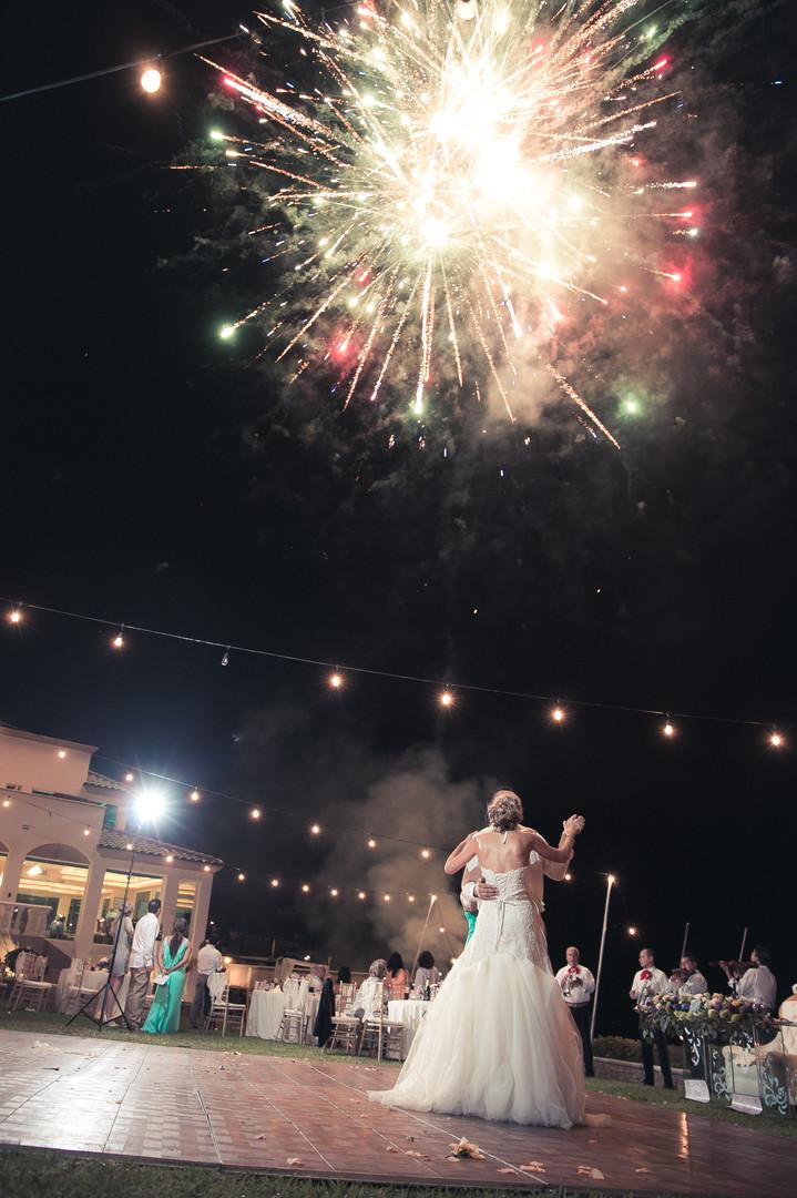 Fireworks in Ensenada
