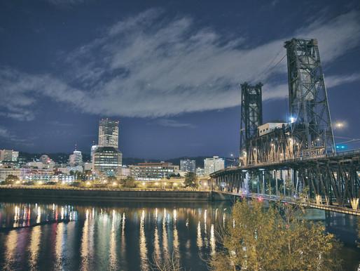 Reflections of the Steel Bridge