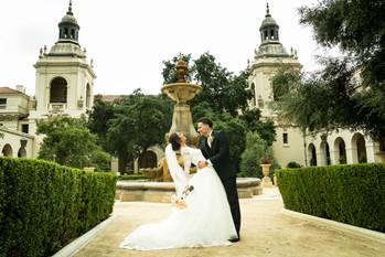 Pasadena City Hall Wedding Session
