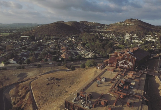 Orange County Mining Company Aerial View