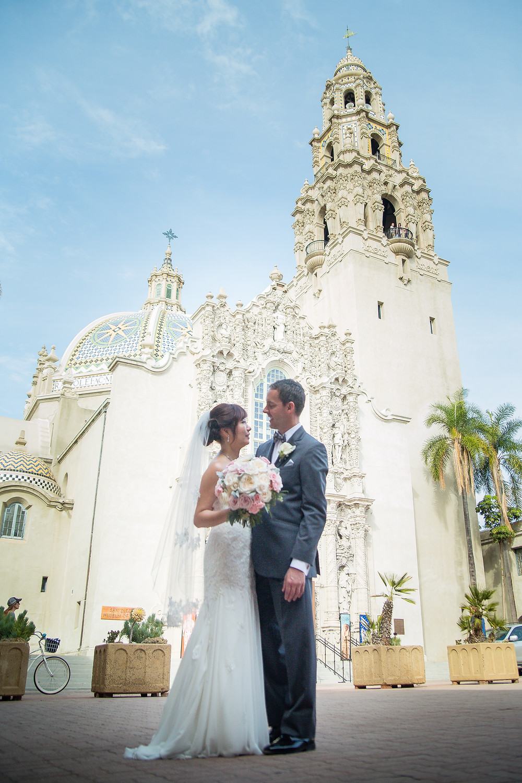 Chris and Evie Hotel Del Coronado