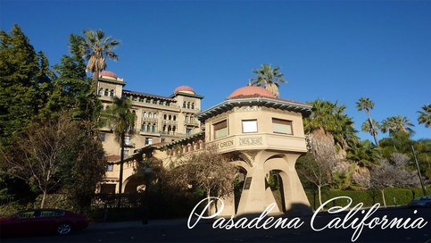 Pasadena Castle Green Wedding: Andrea and Eugene
