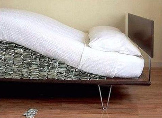 Cash in Your Mattress? Why you can't use it as a down payment.