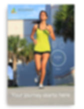 Poster design for fitness tracking device