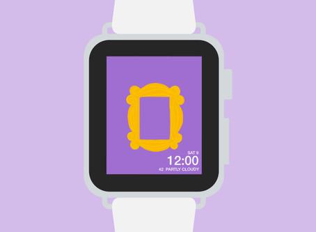 Apple Watch background freebie