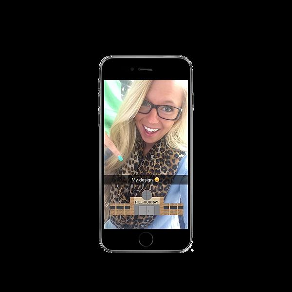 Hill-Murray Highschool Snapchat Filter Illustration