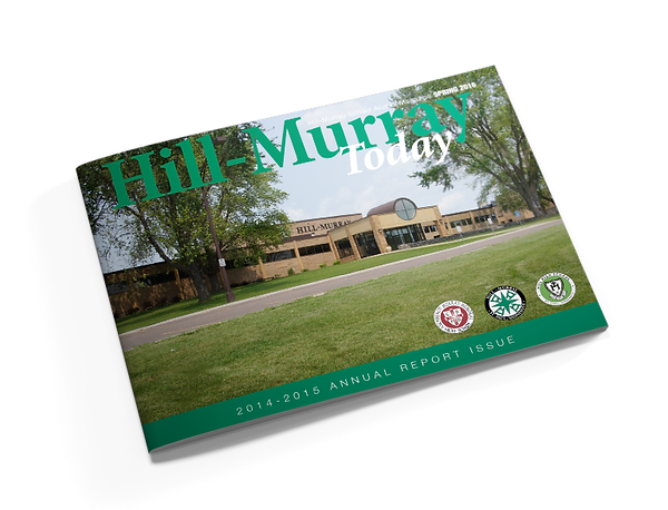 Print design, Hill-Murray Annual Report