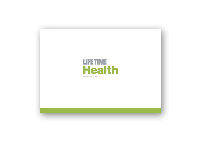 Brand Style Guide for Life Time Health