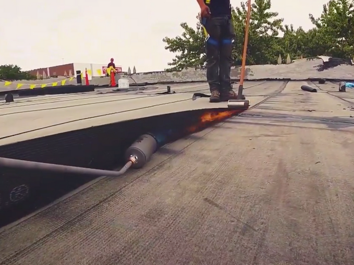 Industrial Flat Roof