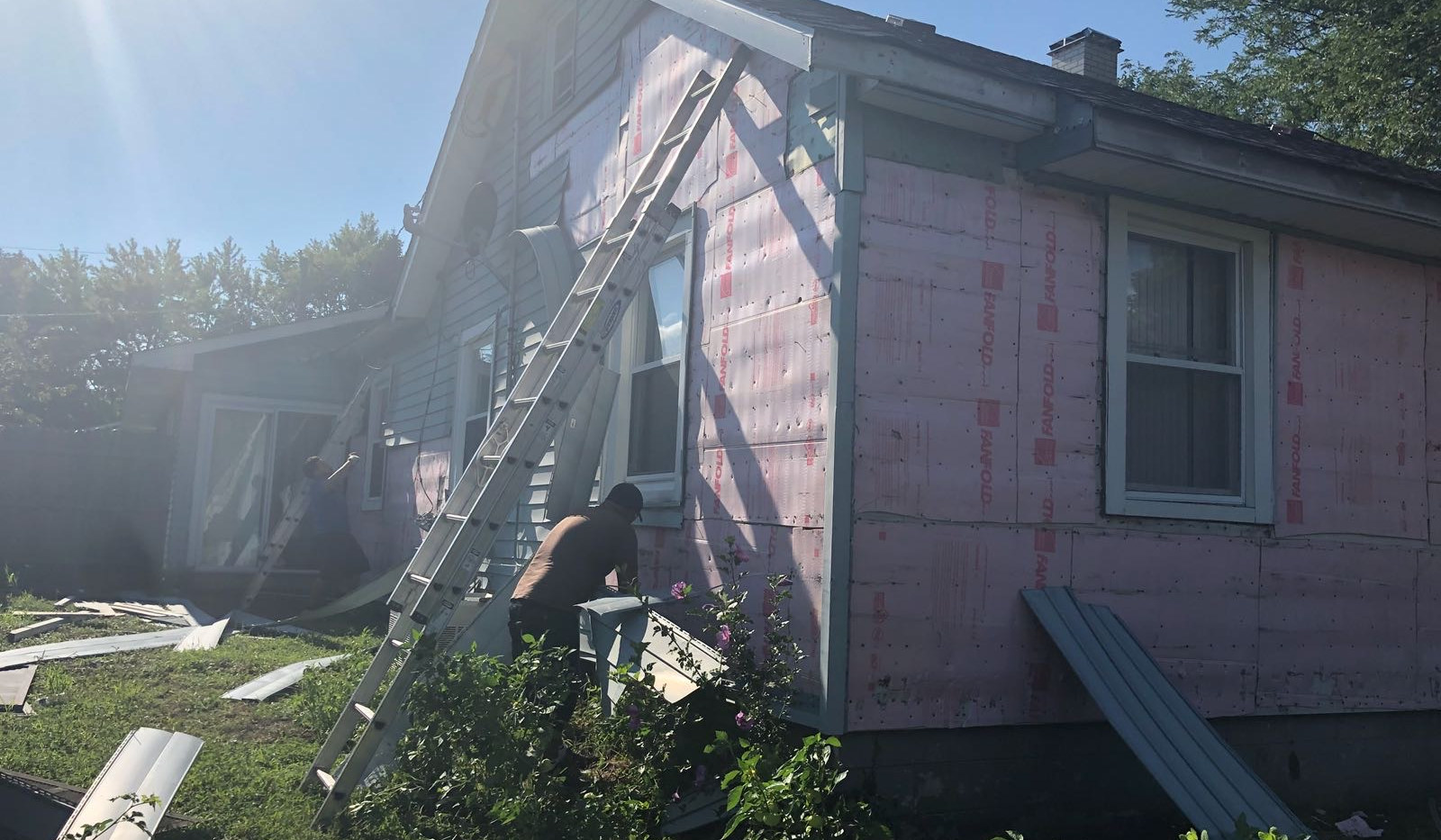 Siding and Soffit replacement process