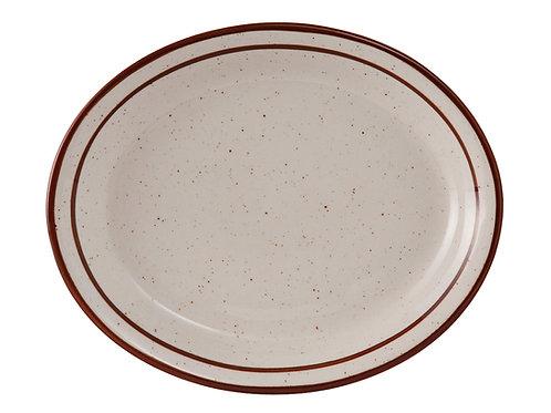 "Bahamas Oval Platter 13-1/4"""