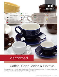 Decorated Coffee, Cappuccino & Espresso