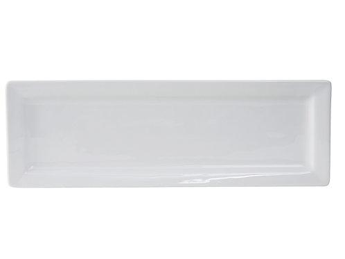 "Santorini Rectangular Plate 16"""