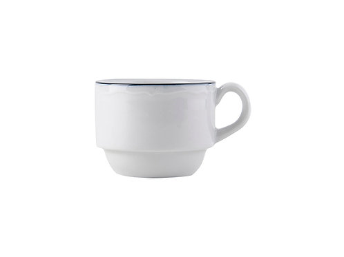 Charleston Blue Band Stackable Espresso Cup 3oz