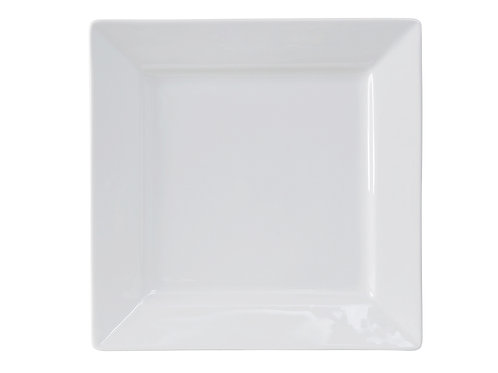 "Santorini Square Plate 12-1/8"""