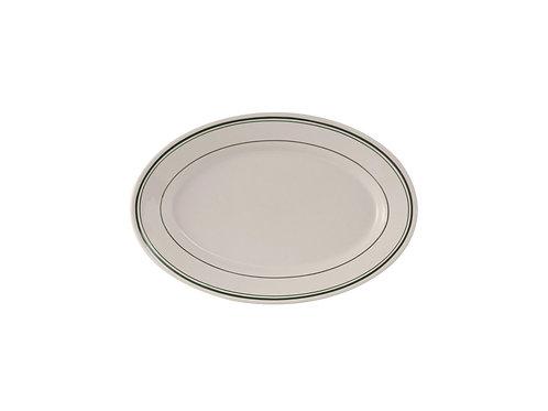 "Green Bay Oval Platter 7"""