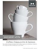 Porcelain White Coffee, Cappuccino & Espresso