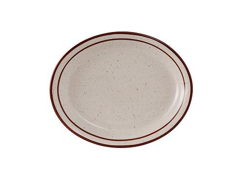 "Bahamas Oval Platter 8-1/2"""