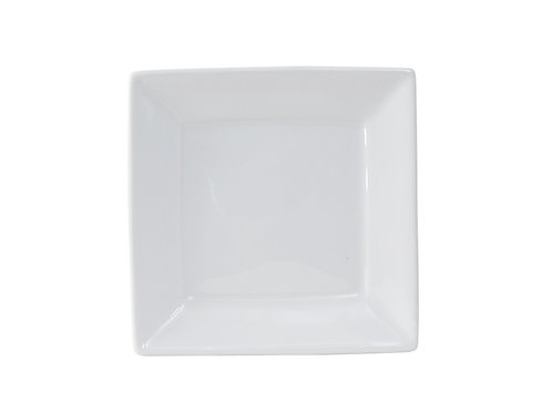 "Santorini Square Plate 6"""