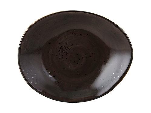 "Artisan Ellipse Plate 12"""