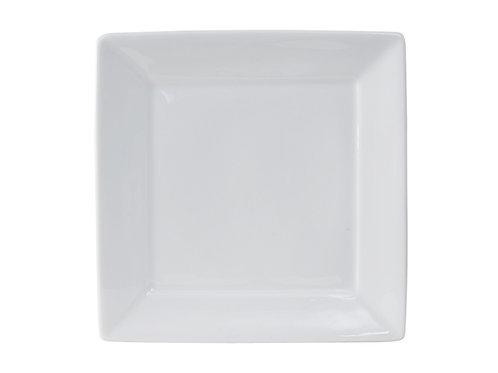 "Santorini Square Plate 10-1/8"""