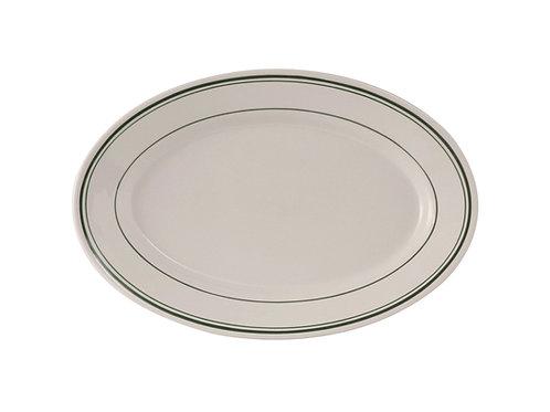 "Green Bay Oval Platter 11-5/8"""