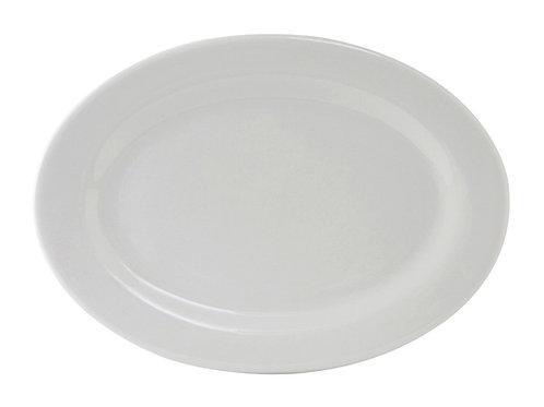 """Alaska Oval Platter 16-1/8"""""""