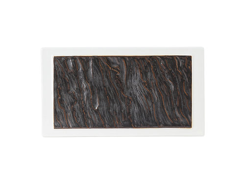Kona Rectangular Plate 10""