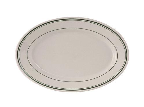 "Green Bay Oval Platter 12-5/8"""
