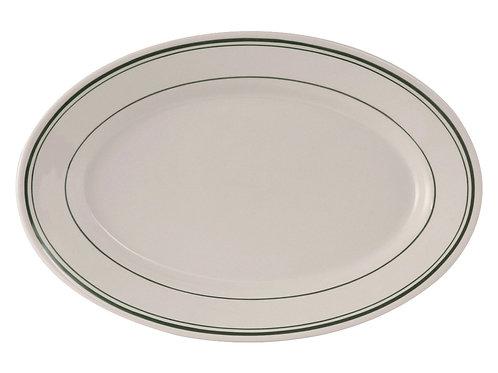 "Green Bay Oval Platter 15-3/4"""