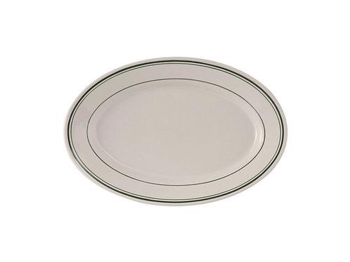 "Green Bay Oval Platter 9-3/8"""