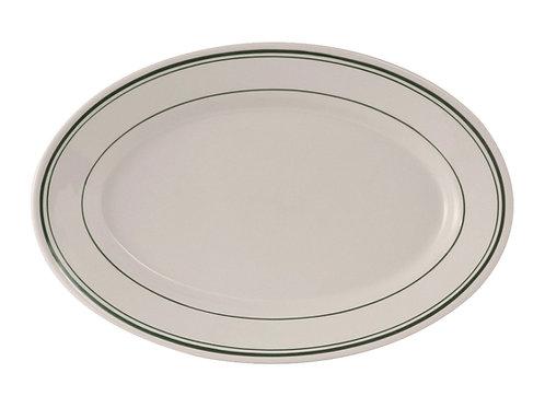 "Green Bay Oval Platter 14-1/8"""