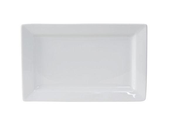 "Santorini Rectangular Plate 11"""
