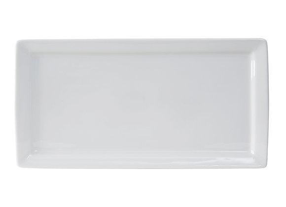 "Santorini Rectangular Plate 15-1/2"""